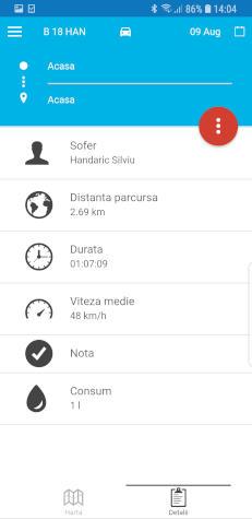 detalii traseu localizare gratis gPS foaie de parcurs monitorizare auto